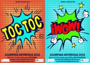 Acampada WOW y TOC TOC 2018